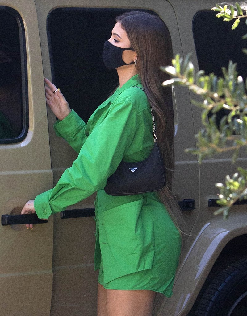 Kylie Jenner  Out for Lunch at 40 Love in West Hollywood 13 Aug -2020