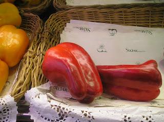 papel fondo cajas frutas verduras