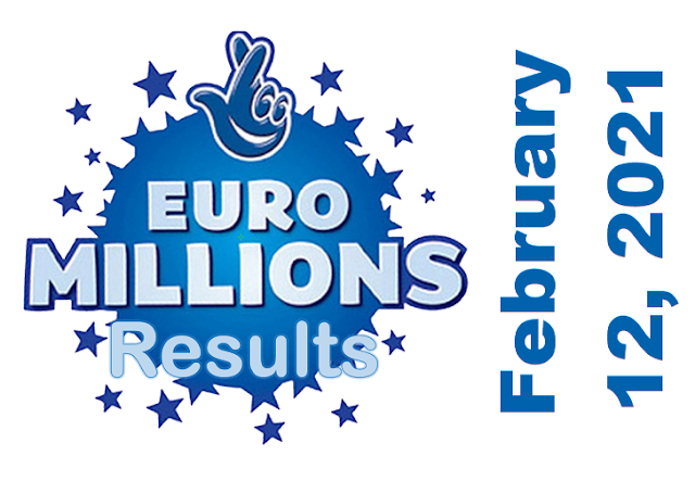 EuroMillions Results for Friday, February 12, 2021