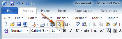 There is a feature called Print Preview in MS Word through which a document can be seen on the screen before printing it, it is always good to see the document before printing it so that If any information in the document is not correct, you can immediately correct it, through this option you can see one or more pages simultaneously.