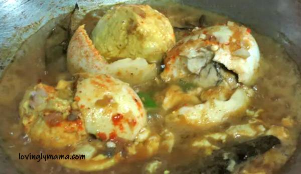 balut recipes - spicy balut adobo recipe - balut in sweet chili sauce recipe- homecooking- Bacolod mommy blogger - Pinoy dishes - Pinoy delicacies - from my kitchen