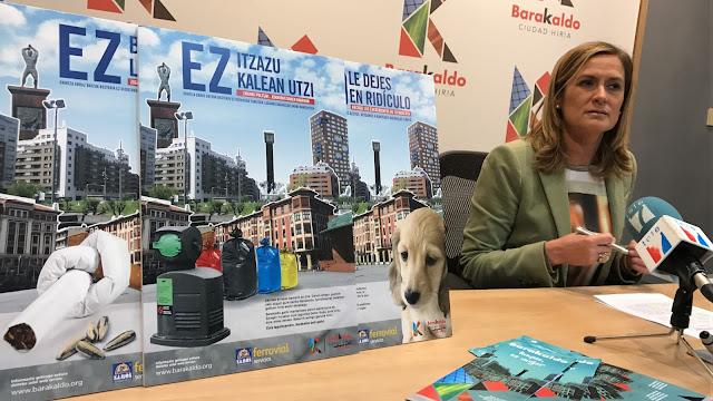 La alcaldesa presenta la nueva campaña por el civismo