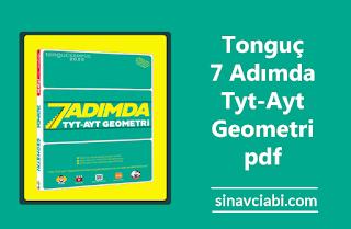 Tonguç 7 Adımda Tyt-Ayt Geometri pdf