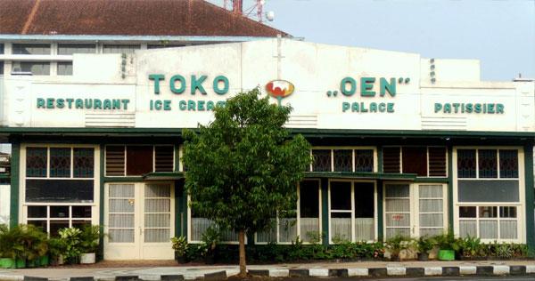 "Restoran Toko ""OEN"" Malang"