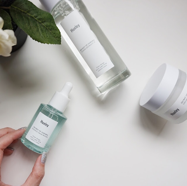 huxley skincare hydration routine