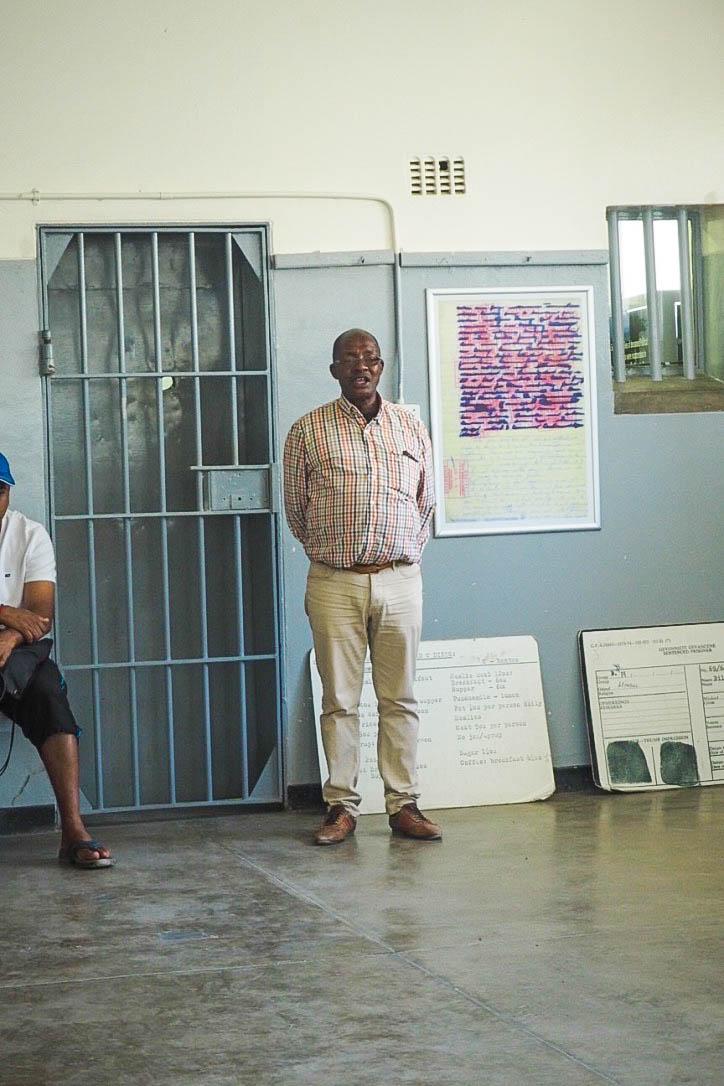 Robben Island prisoner