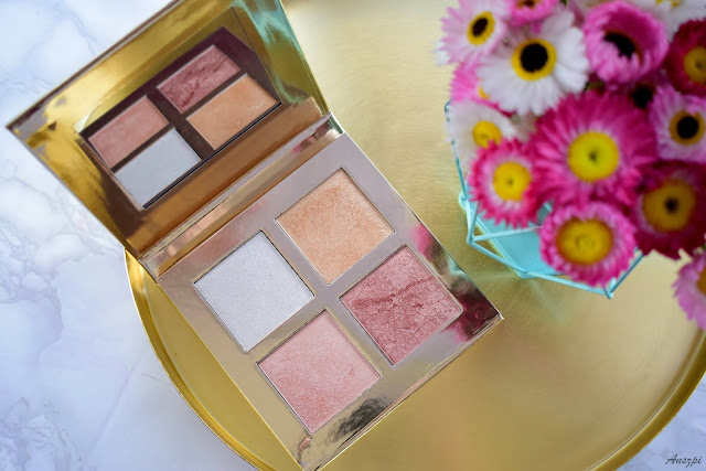 Paleta rozświetlaczy London Face Quad Makeup Revolution