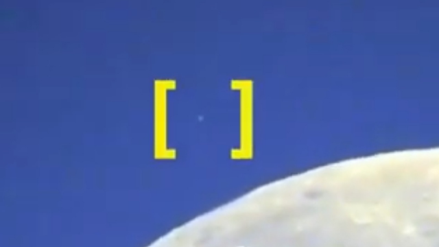 UFO Caught on Camera Passing By The Moon