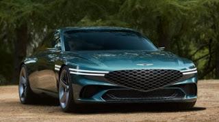 X Concept EV - مقدمة Genesis لسيارة كهربائية فاخرة