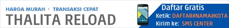 Web Resmi Server Thalita Reload Pulsa TerMurah PPOB TerLengkap Aman Terpercaya