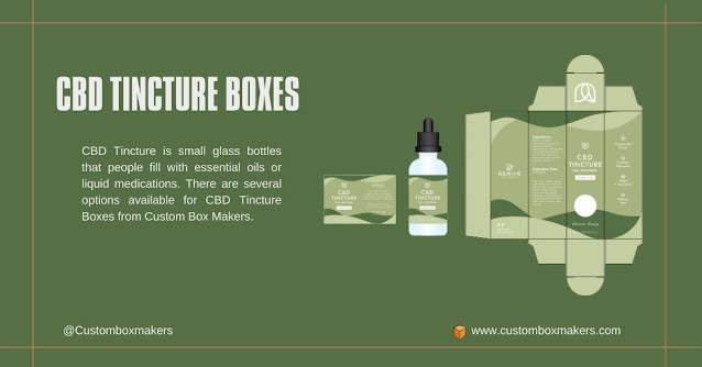 Achieve Heights of greatness with Tincture Boxes