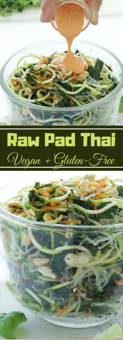 Raw Vegan Pad Thai #vegetarian #vegan #easy #food #dinner