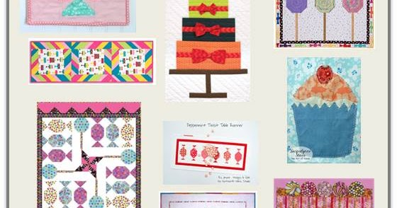 Quilt Inspiration Free Pattern Day Sweets Cupcakes