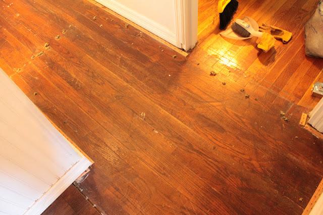 Vanhook Amp Co Annie Sloan S Chalk Painted Floor