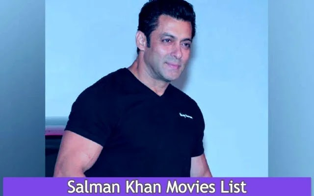 Salman Khan All Movies List | Upcoming Movies List