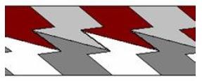 покрытие плоскости невыпуклыми семиугольниками