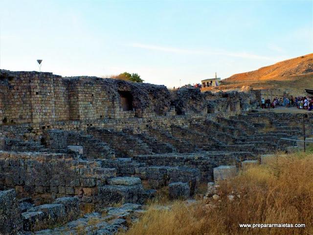 que ver en Valeria restos romanos en Cuenca