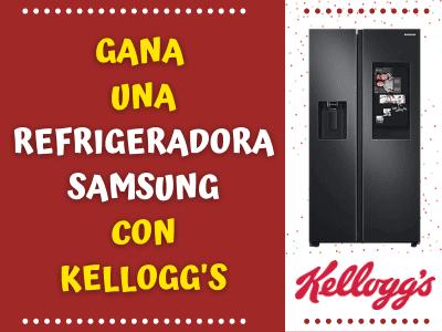 GANA UNA DE LAS 5 REFRIGERADORAS CON KELLOGG'S