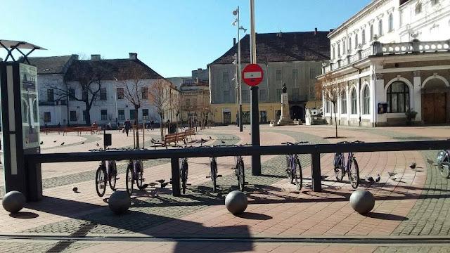 Atentie bicilisti nu mai circulati in zona interzisa din centru.In trei zile peste 30 de persoane au primit amenda