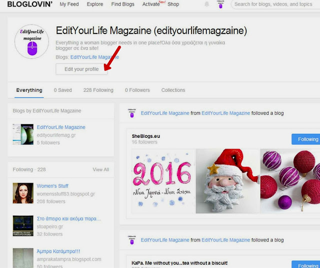 How to get more followers on bloglovin