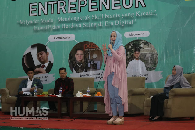Novita Hardini: Millenial Adalah Ujung Tombak Generasi Bangsa Indonesia