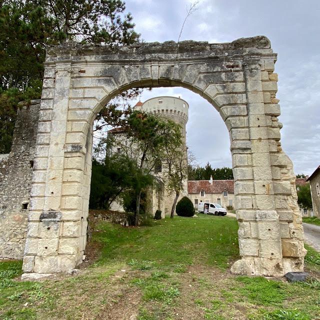 Chateau de Betz. Indre et Loire. France.