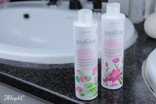 Shampoo balsamo capelli Lisci Maternatura