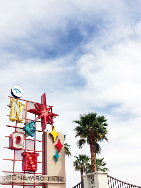 Budget-Friendly Las Vegas Attractions: The Neon Sign Museum | Will Bake for Shoes alt