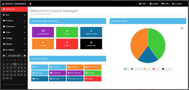 SIMPLE INVOICE MANAGER V3.6.10 - PHP SCRIPT NULLED