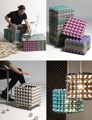 Ideas para reciclar cartones de huevos