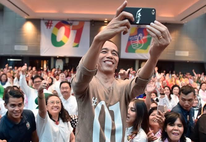 Gaya Kampanye Door to Door Jokowi