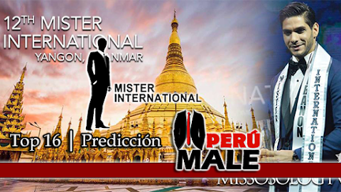 Mister International 2017 / 2018 │ Top 16 | Predicción