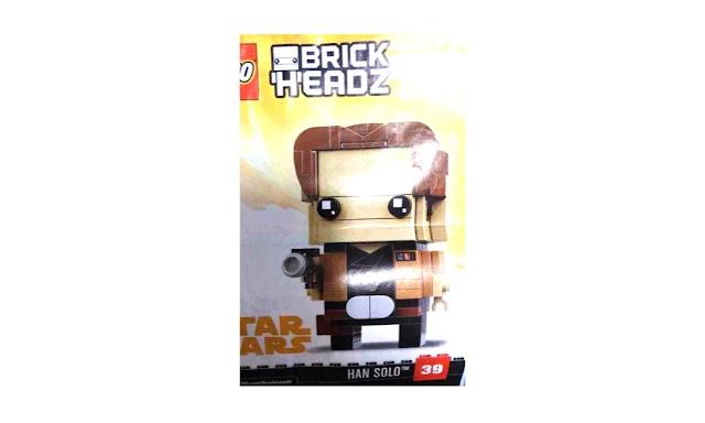 LEGO 41608 - Brickheadz Star Wars: Han Solo - $9.99 | 141 Pieces