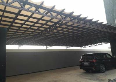 برجولات - خشب - مظلات مداخل - مظلات سيارات رؤية عصرية 2021-2030