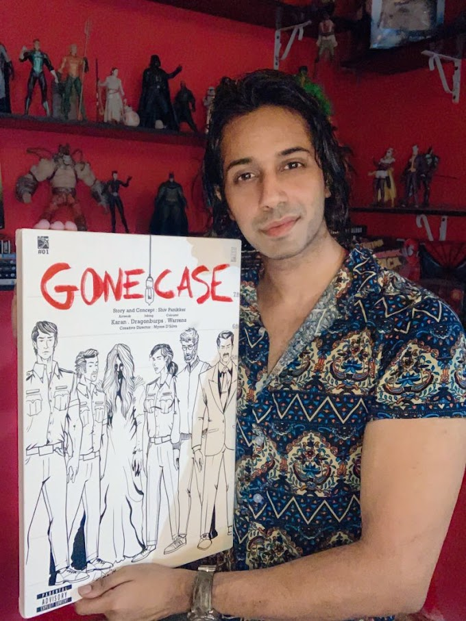 Author-film director Shiv Panikker's success mantras with his comic book 'Gone Case'.