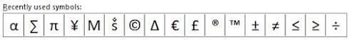 cara memasukkan simbol centang ceklis di word