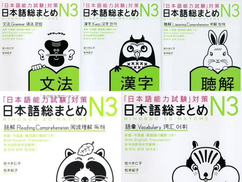 Nihongo Soumatome N3 PDF - 日本語総まとめN3 PDF - Japanese Study