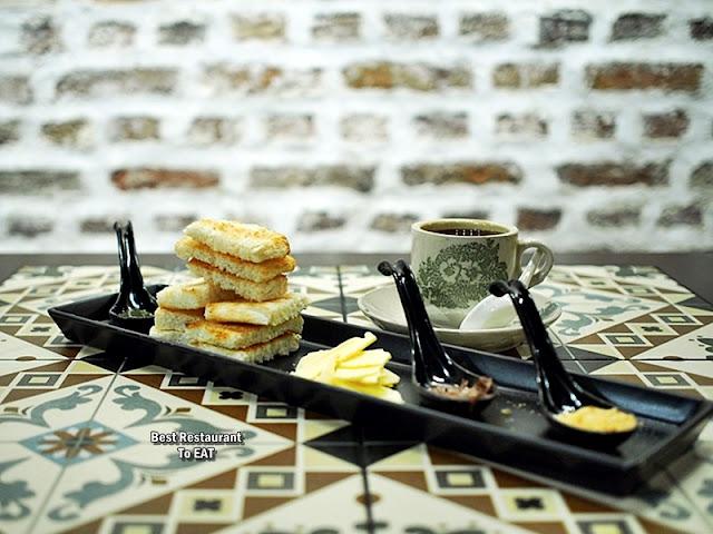Luckin Kopi Petaling Street Menu - Kaya Butter Toast