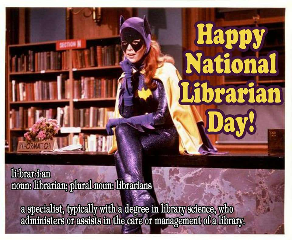 National Librarian Day Wishes Unique Image