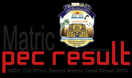 Bise Dg Khan Board Matric Supply Result 2018 9th 10th Class – Fondos