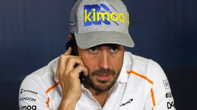"""Fernando Alonso estalla al escuchar el motor de su Renault: """"¡Pero que mierda es esta!"""""""