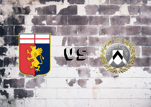 Genoa vs Udinese  Resumen