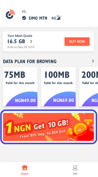 Get 10GB for N1 on SIMO App if You Are Using This Tecno Phone