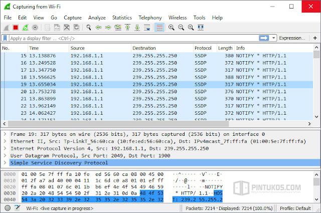 Wireshark 2.6.4 Terbaru