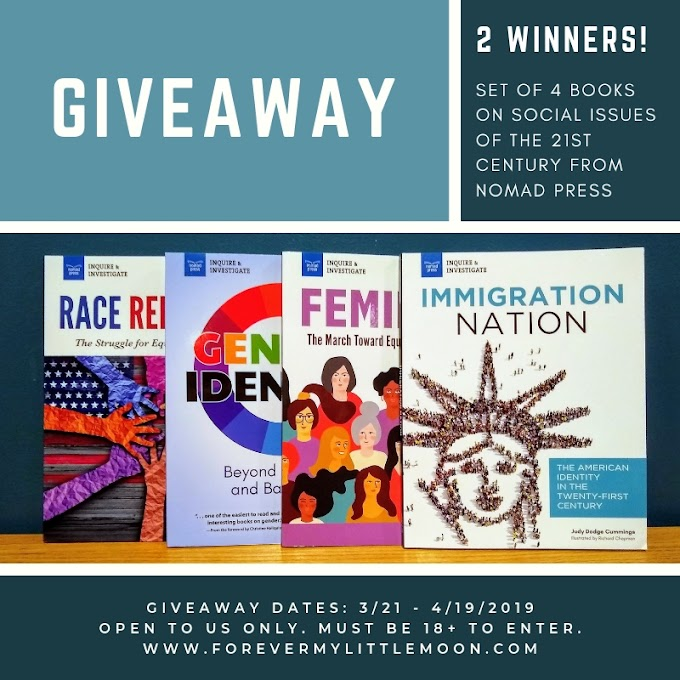 Set of 4 Books On Social Issues Of The 21st Century Giveaway - 2 Winners