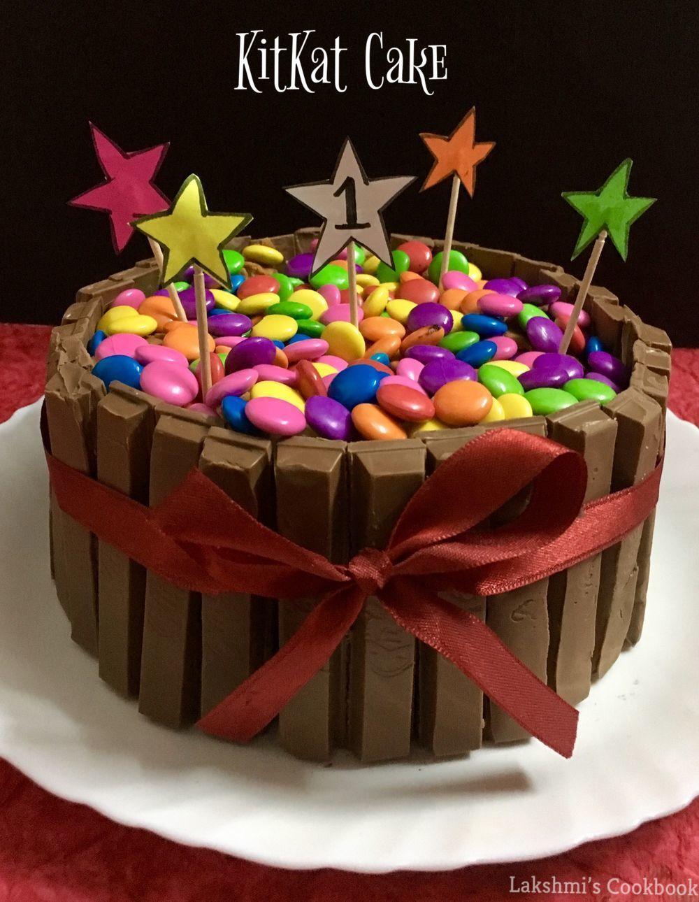 Terrific Kitkat Cake Birthday Cards Printable Opercafe Filternl