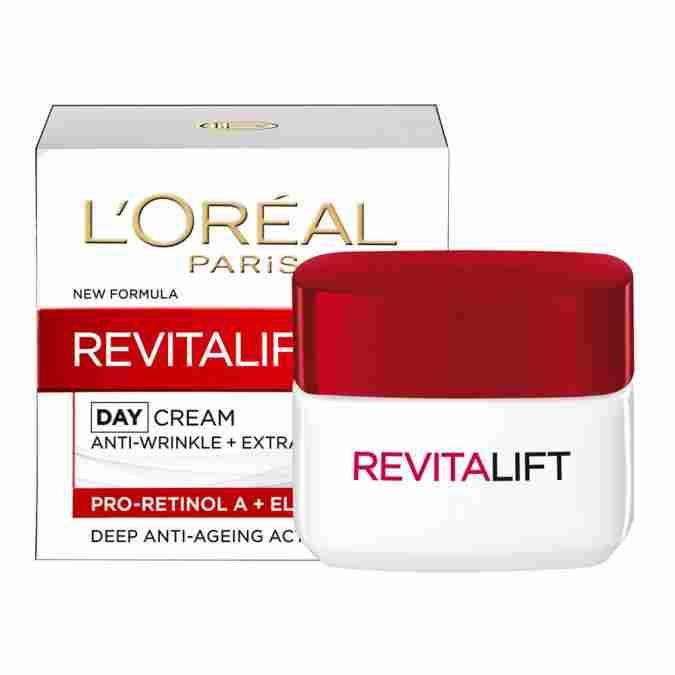 Best Anti Aging Cream LOreal Paris Revitalift Day Cream SPF35 (50ml/20ml)
