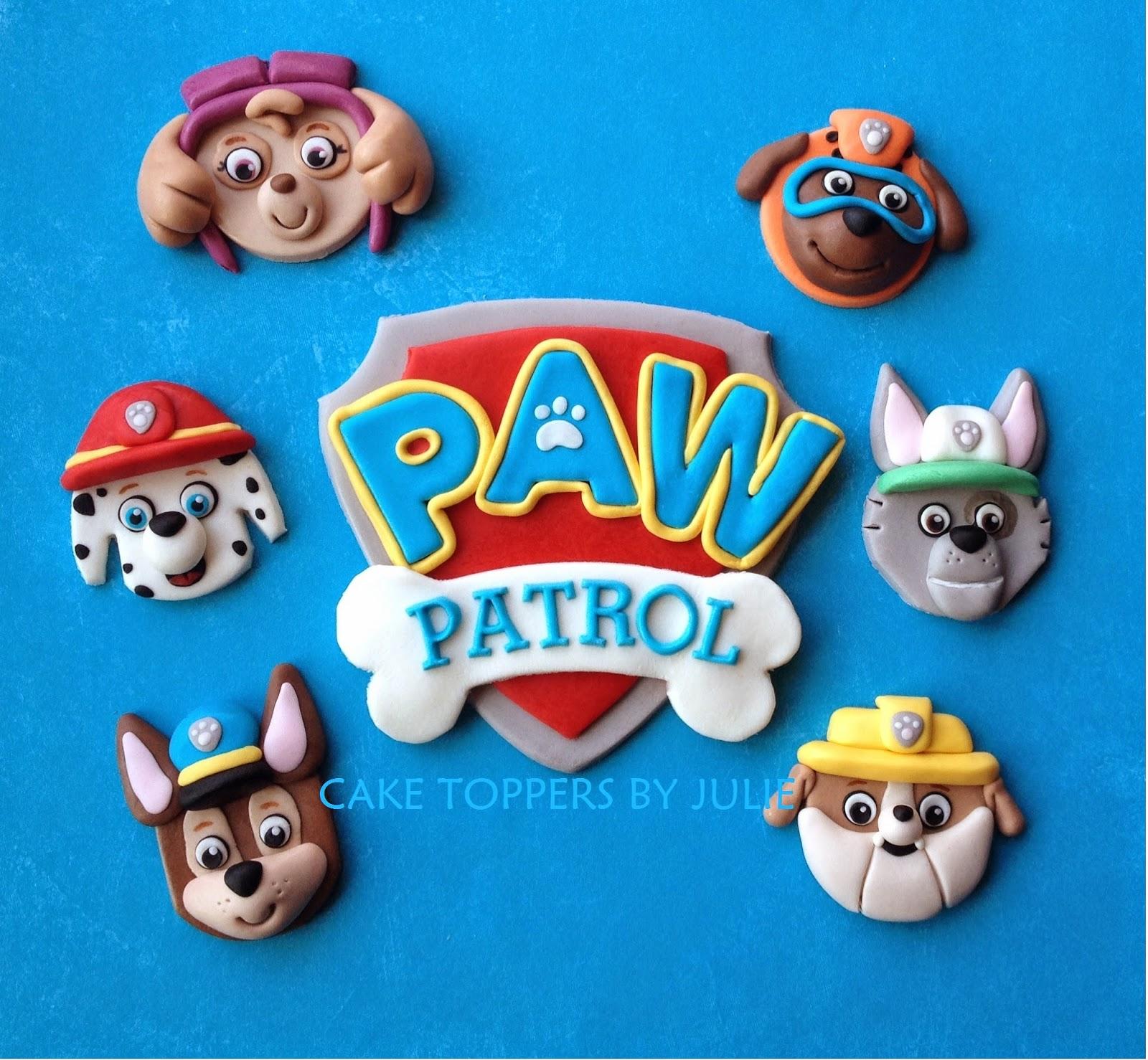 Paw Patrol Cake Topper Tutorial