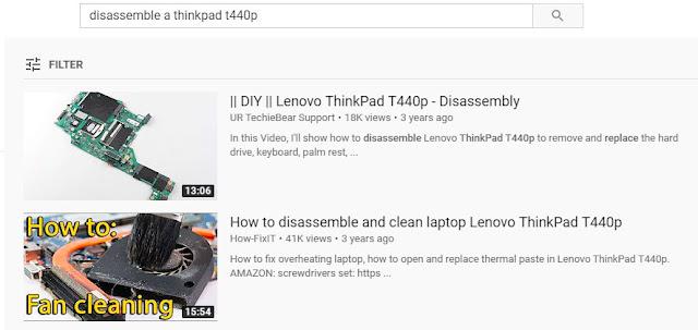Čišćenje laptopa, korak 1, rasklapanje