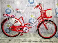 tengah exotic et9788 mini 24 inci city bike